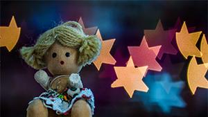 Bokeh, Sfocato, Arte Fotografica, cuore, stella