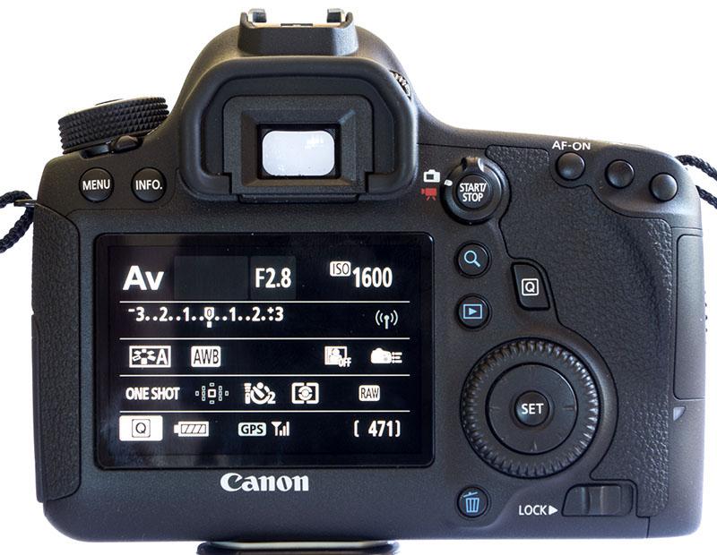Canon EOS 6D, Reflex, Full-frame