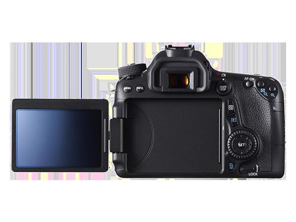 Canon EOS 70D, reflex, APS-C, schermo touch
