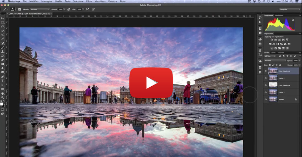 Come elaborare un file raw, tutorial Photoshoop