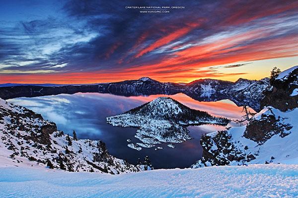 Crater Lake National Park Oregon Zhuokang Jia