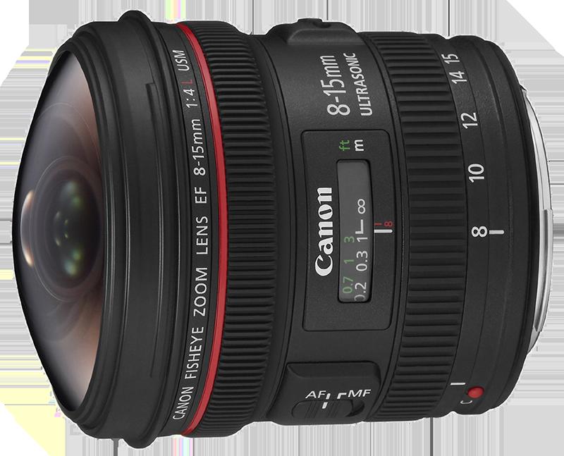 Fotografia di paesaggio, Grandangolare, Canon, EF 8-15mm f4 L USM II