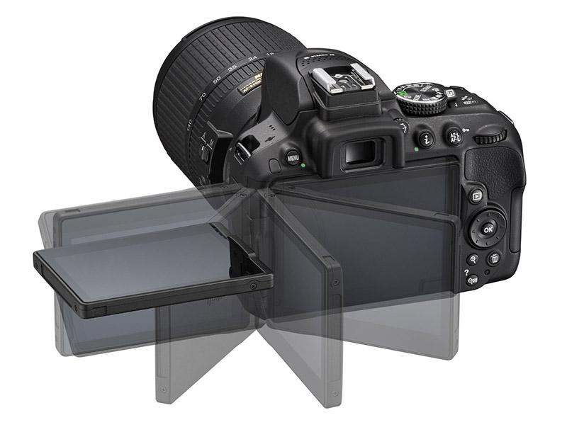 Nikon D5300, Reflex, Schermo Touchscreen, AF, EXPEED,3