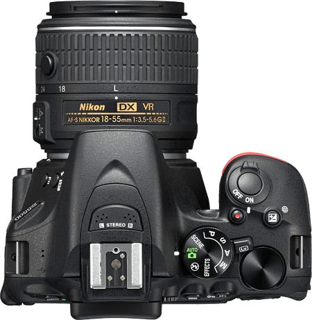 Nikon D5500, Touch Screen, Reflex