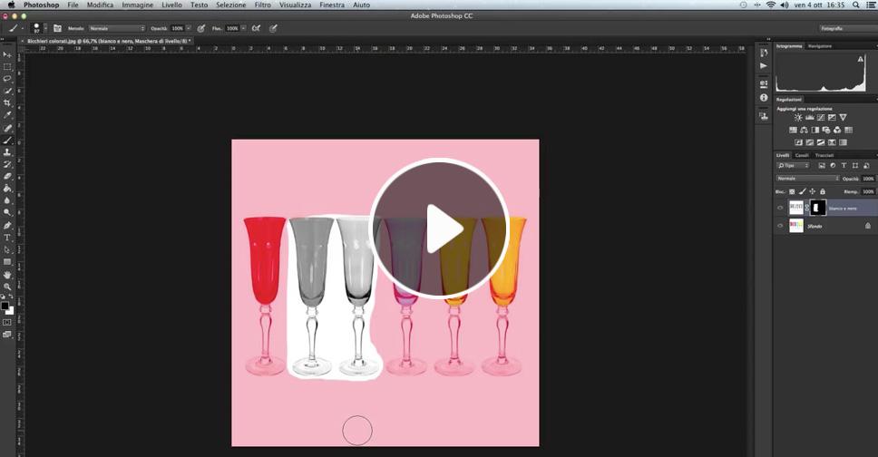 Maschere di livello, tutorial Photoshop, Fotoritocco