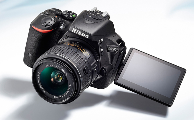 Nikon D5500, Touch Screen, Reflex