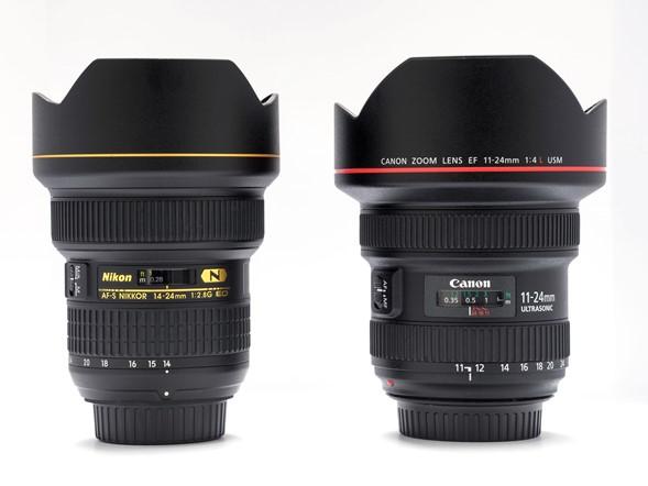 Canon EF 11-24mm f:4 L USM, obiettivo, Grandangolo, 14-24mm