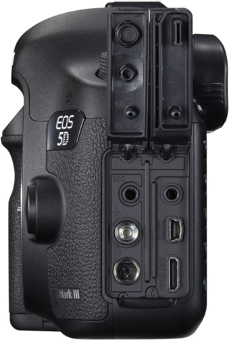 Canon EOS 5D Mark III, Relfex, Full-frame, lato