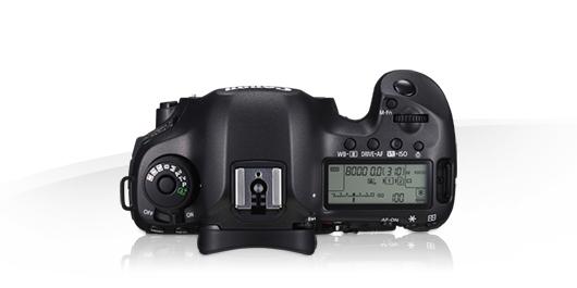 Canon EOS 5DS R, laterale, alto