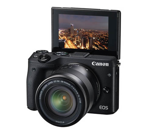 Canon EOS M3, Mirrorless, camera, LCD