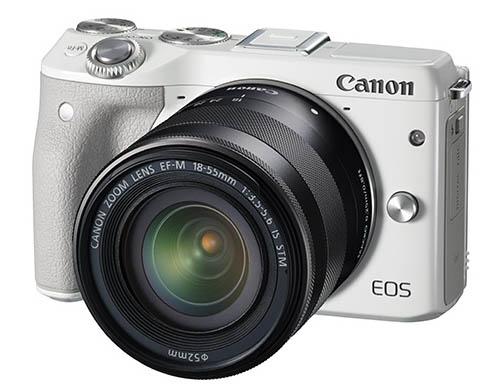 Canon EOS M3, mirrorless, camera