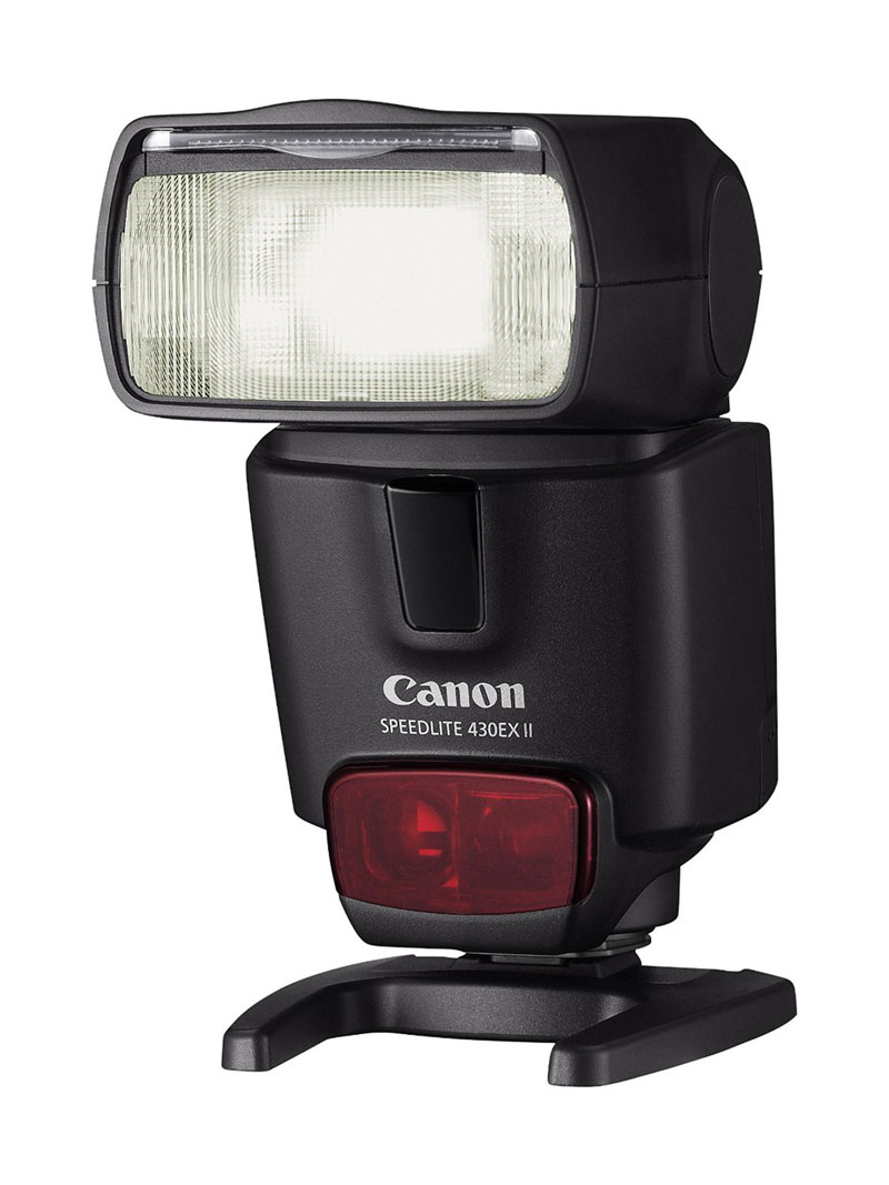 Canon Speedlite 430EX II, flash, front