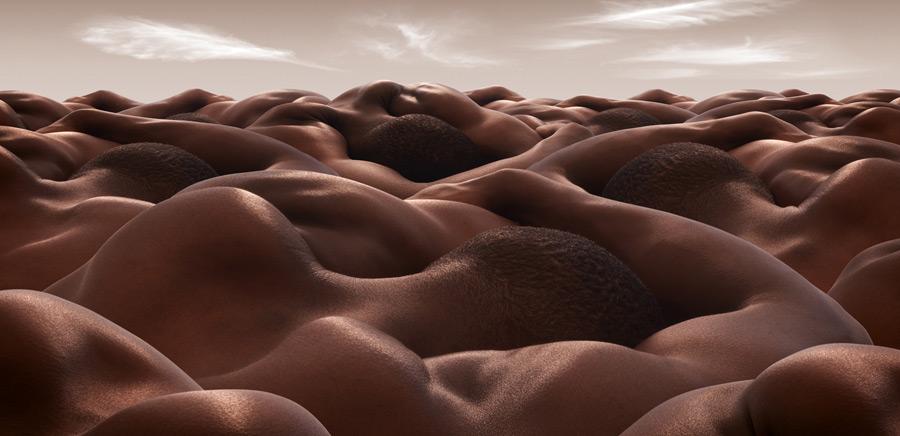 Desert of Sleeping Men, Carl Warner