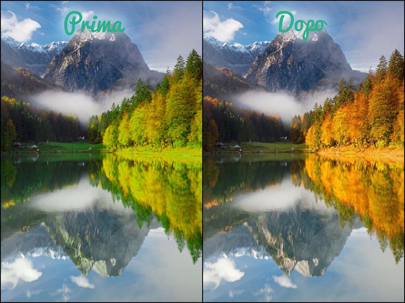 Filtro HSL, tutorial Camera Raw, Photoshop, Fotoritocco, tonalità, 1