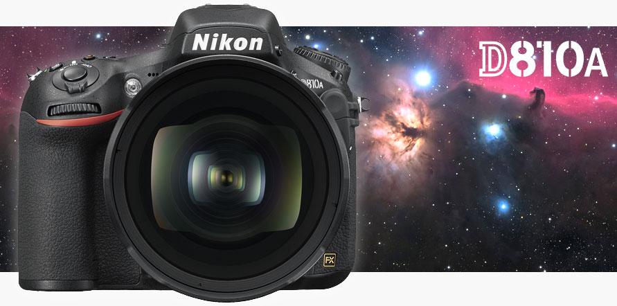 Nikon D810A, frontale
