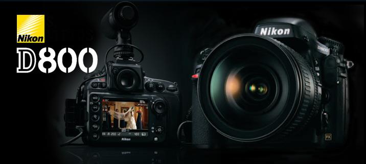 Nikon D800, D800E, Relfex, Full-frame