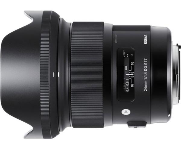 Sigma, 24mm f1.4 DG HSM, grandangolo, Nikon, Canon, paraluce
