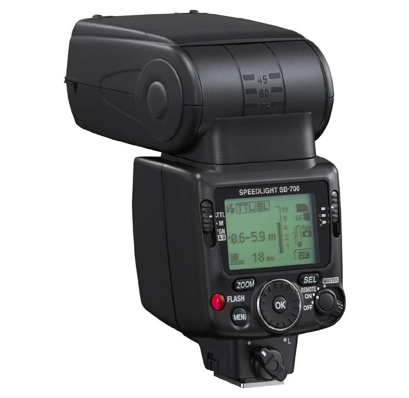 Speedlite SB-700, Flash, Nikon, retro copia