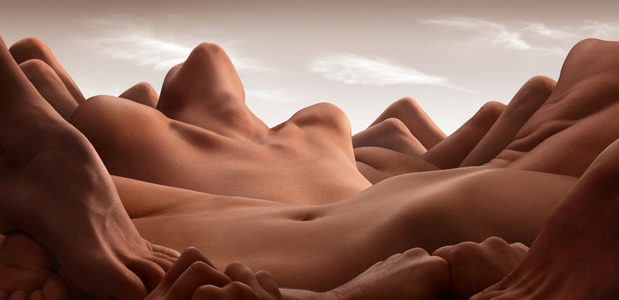 Valley of the reclining woman, Carl Warner