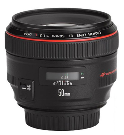 Canon 50mm f1.2, rumors, notizie