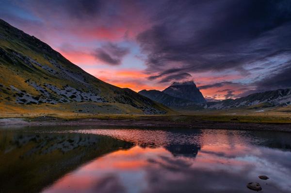Come fotografare un tramonto, silhouette, tecnica fotografica