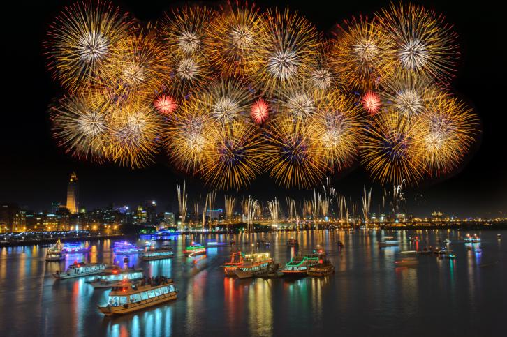 Fotografare fuochi d'artificio, tecnica fotografica
