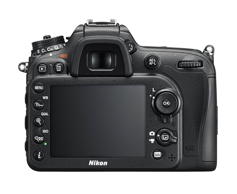 Nikon D7200, Reflex, novità, wi-fi, retro, lcd