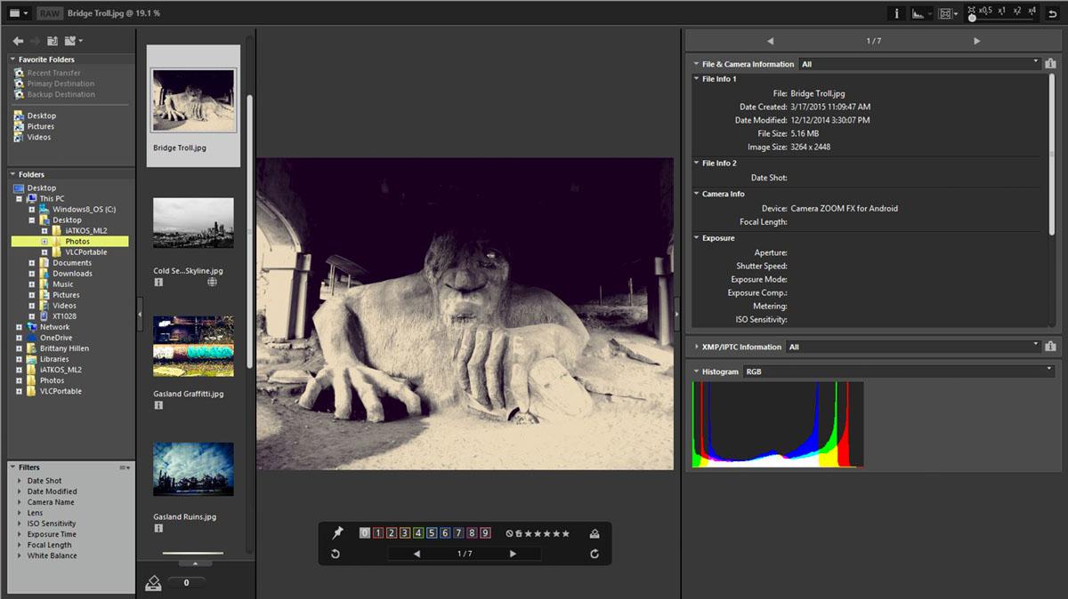 Nikon ViewNX-i, novità, fotoritocco