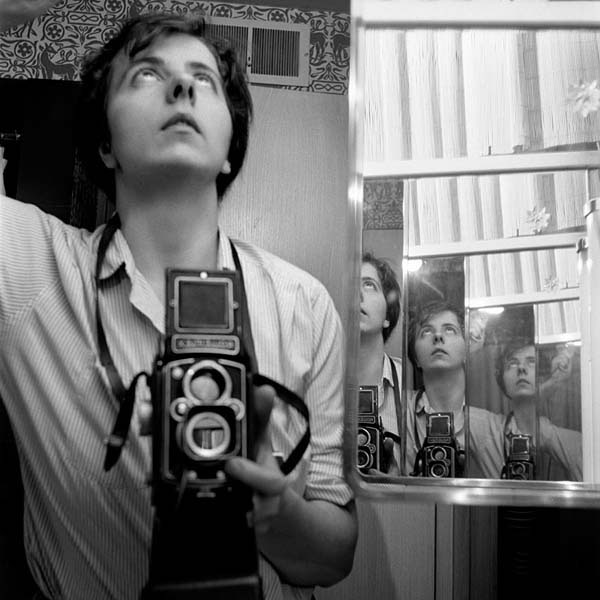 Selfie, autoritratto, portrait, Vivian Maier, tecnica fotografica