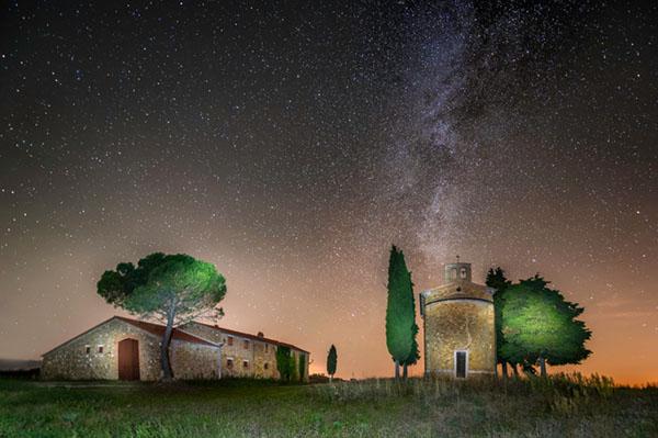 Workshop di paesaggio, fotografia di paesaggio, fotografia notturna, star-trail- light-painting, 1