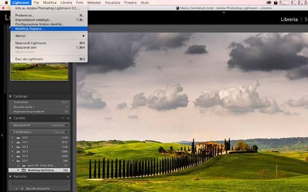 Inserire la firma con Lightroom, tutorial lightroom, fotoritocco