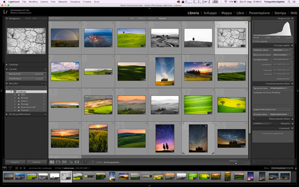 raccolte di Lightroom, tutorial Lightroom
