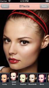 Photo Makeup Lab, filtri fotografici