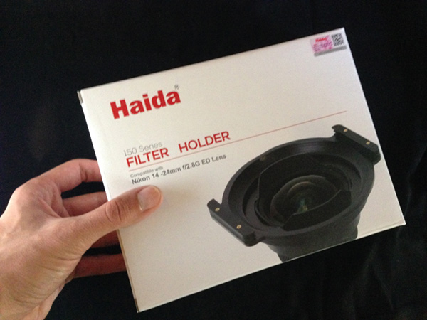 Haida filter holder 150 series, recensione
