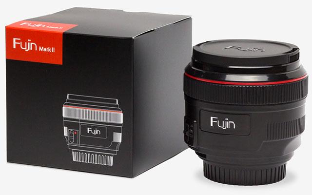 Fujin Mark II, obiettivo aspirapolvere, sensore sporco
