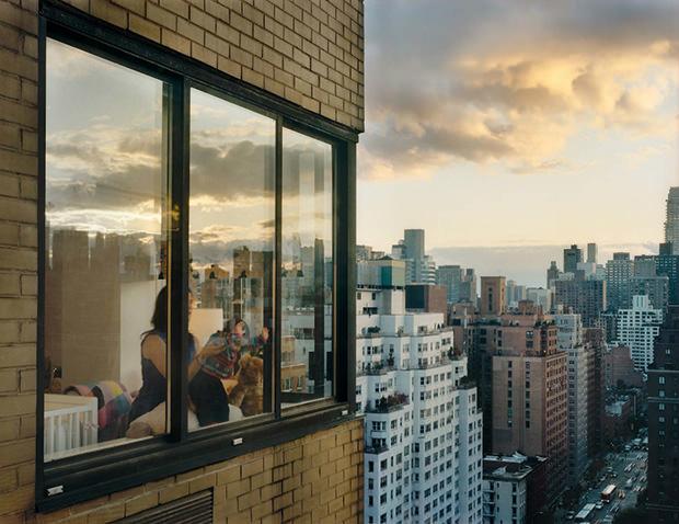 Gail Albert-Halaban, fotografia, Out My Window