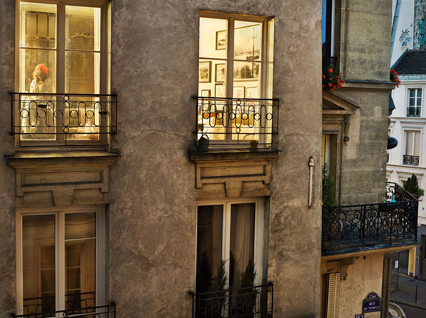 Gail Albert-Halaban, fotografia, Paris view