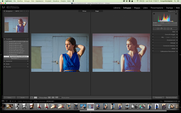 preset di Lightroom