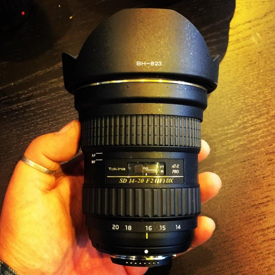 Tokina SD 14-20mm f/2 IF DX