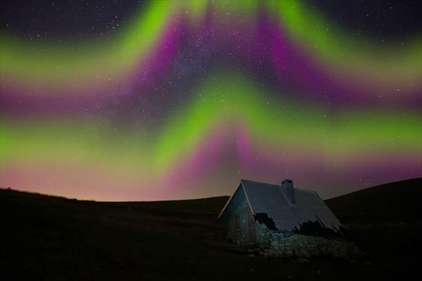 come simulare l'effetto Aurora Boreale