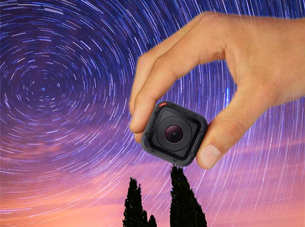 Scopri come fare uno Star-trail con la GoPro