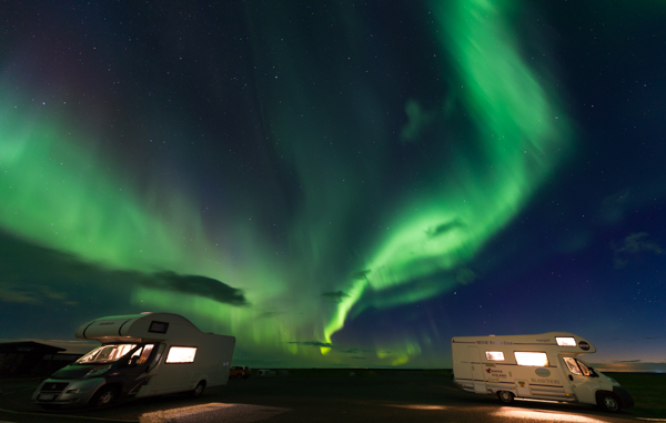 Aurora Boreale, The northern light, tecnica fotografica
