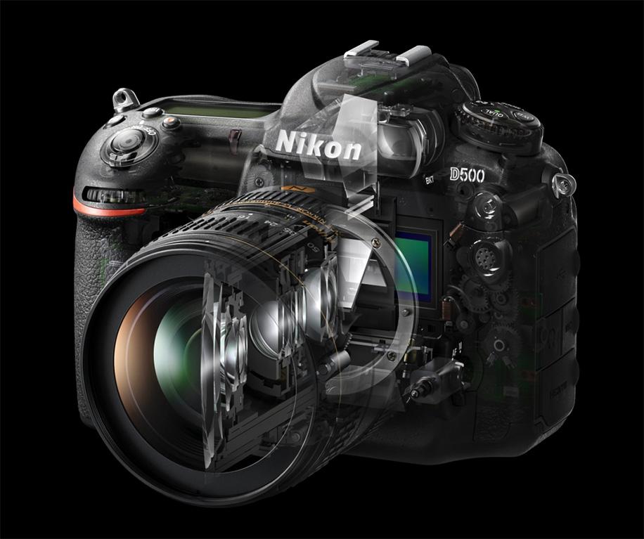 Nikon D500, aggiornamento firmware