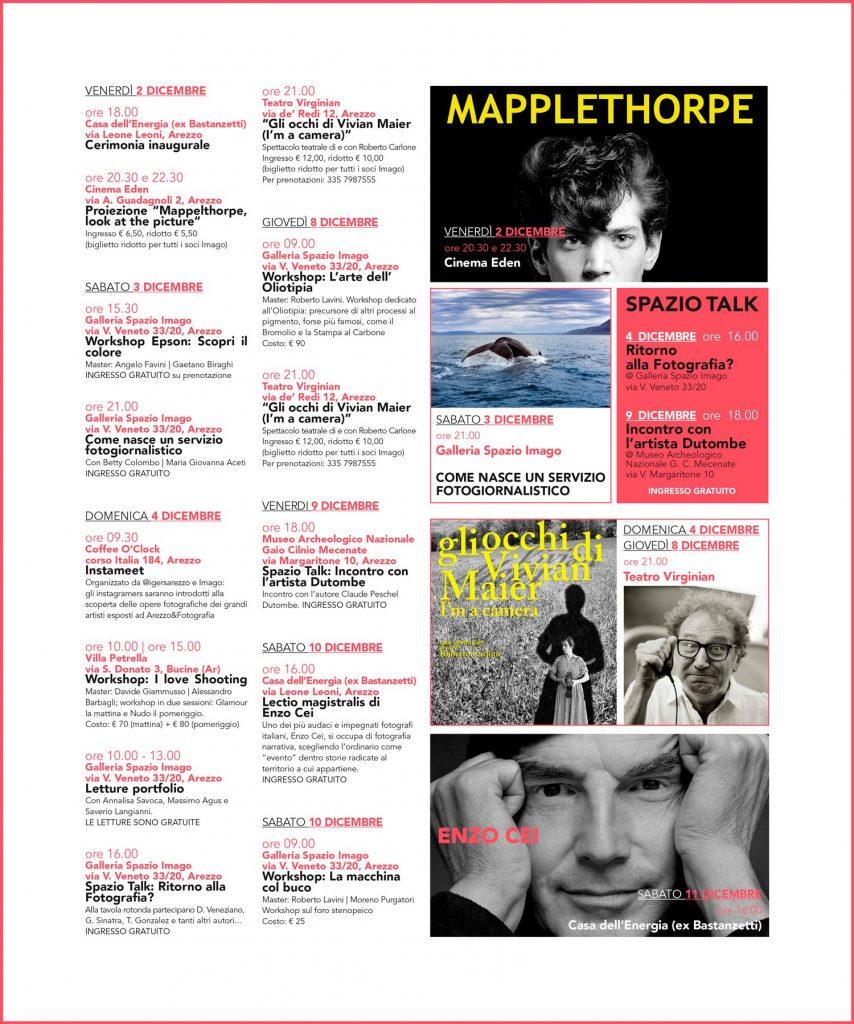 Arezzo&fotografia,programma