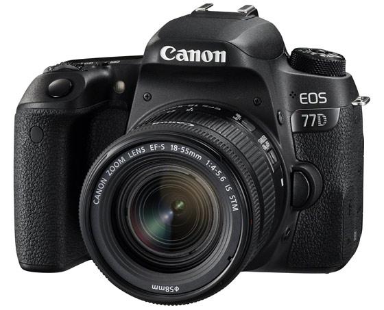 Canon EOS 77D, novità