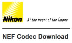 Nikon-NEF-Codec