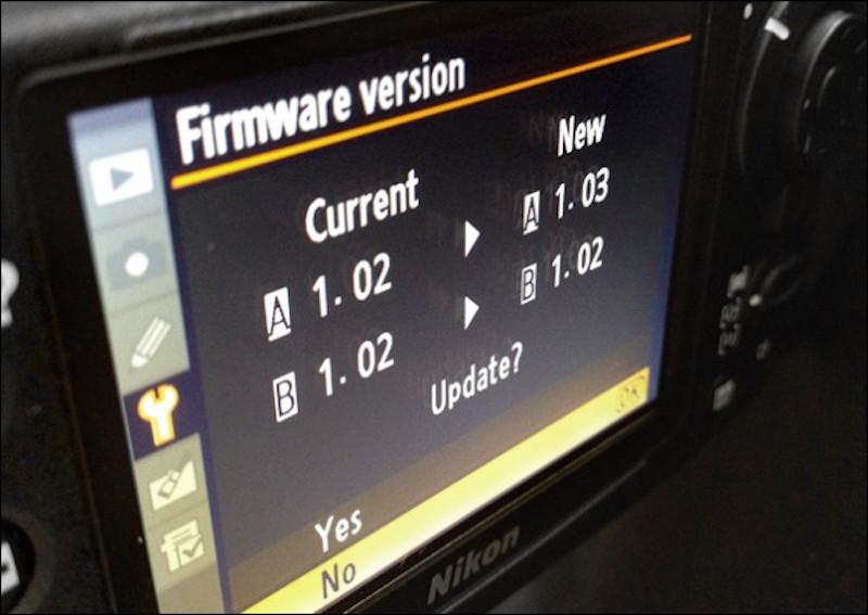 Firmware Nikon D5, Firmware Nikon D500