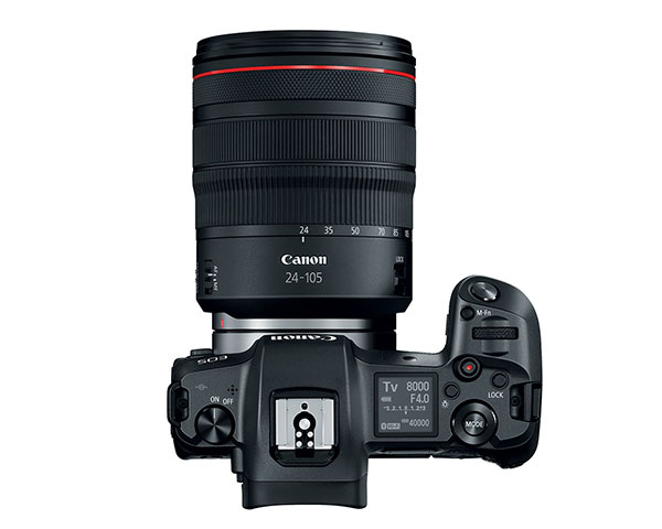 Canon EOS R, mirrorless full frame, Canon Mirrorless full-frame,