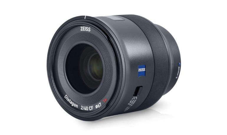 Batis 40 mm CF f2, mirrorless fullf-rame Sony