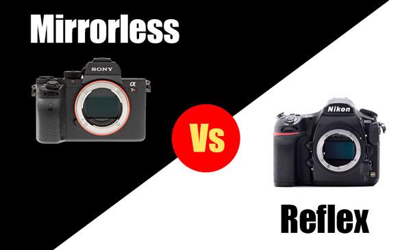 mirrorless, reflex, nikon canon